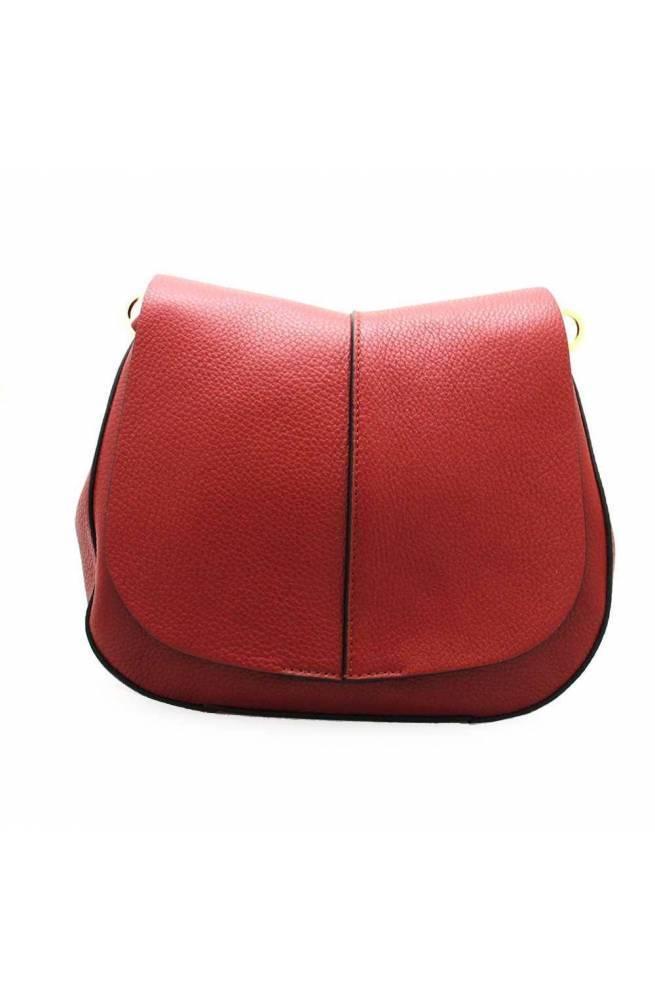 GIANNI CHIARINI Bolsa HELENA ROUND Mujer Cuero Rojo - 603620AICLGRNNA9641