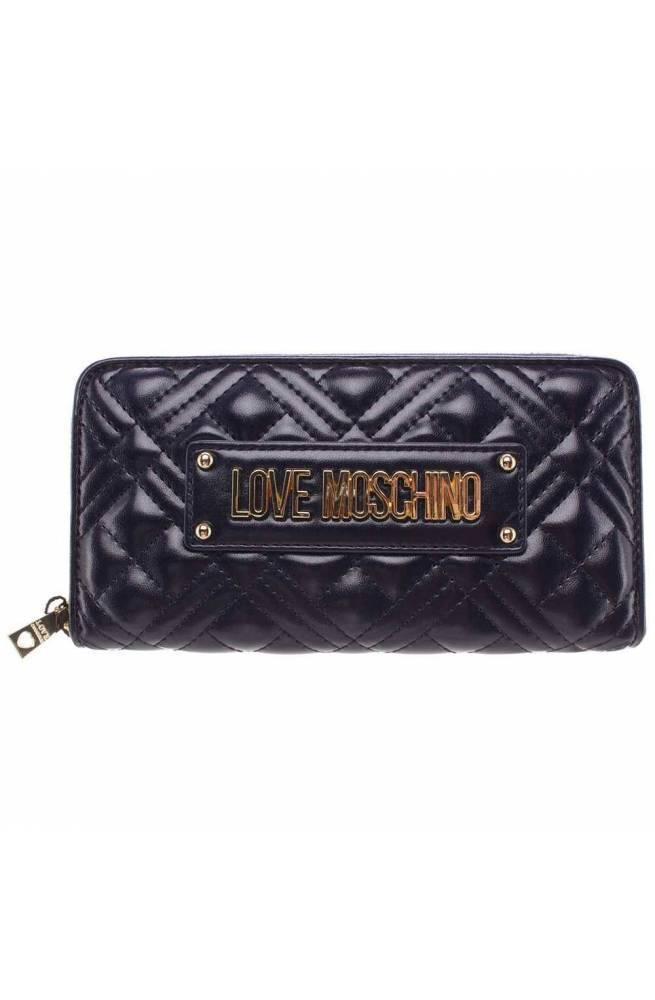 LOVE MOSCHINO Geldbörse Damen Blau - JC5600PP1BLA0751