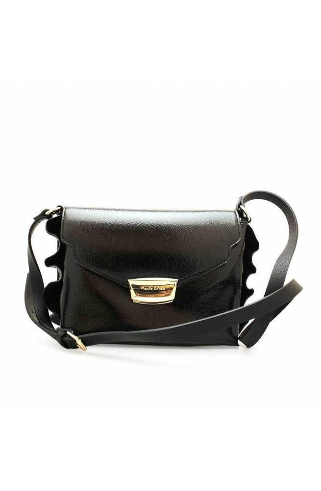 MANILA GRACE Tasche DAISY Damen Schwarz - B027EU-MD500
