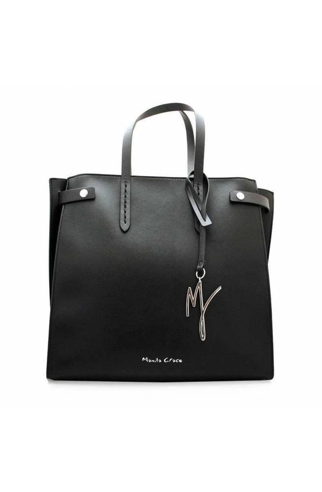 MANILA GRACE Bolsa FELISS Mujer Negro - B008EU-MD500