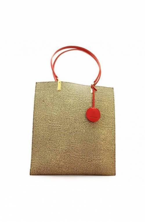 BORBONESE Bolsa Mujer Natural/rojo - 924236-781-X15