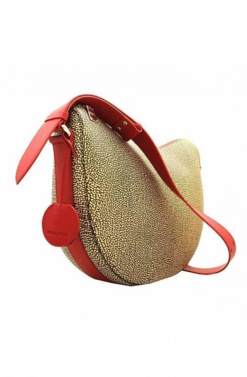 BORBONESE Bolsa Mujer Natural/rojo - 924265-781-X15