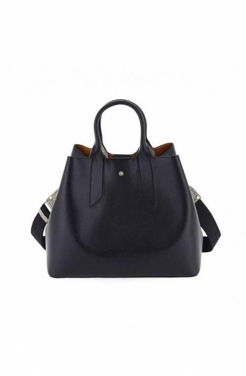 BORBONESE Bolsa Mujer Cuero Negro - 923996-H97-X80