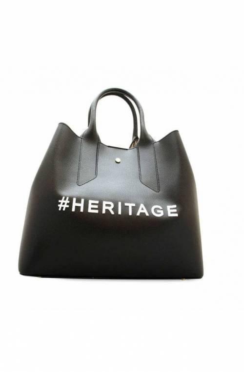 BORBONESE Bolsa HERITAGE Mujer Cuero Negro - 963818-H97-X80