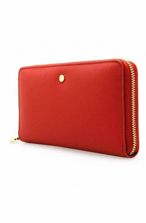 BORBONESE Wallet Female Leather Red - 930111-740-V92