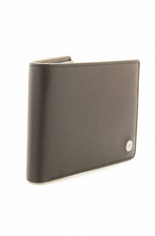 BORBONESE Wallet Male Leather Black - 940357-I89-100