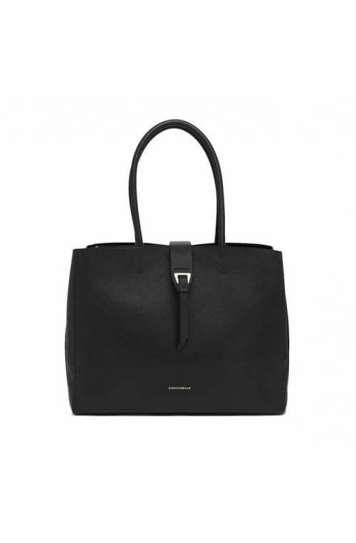 COCCINELLE Bolsa ALBA Mujer Cuero Negro - E1G55110101001