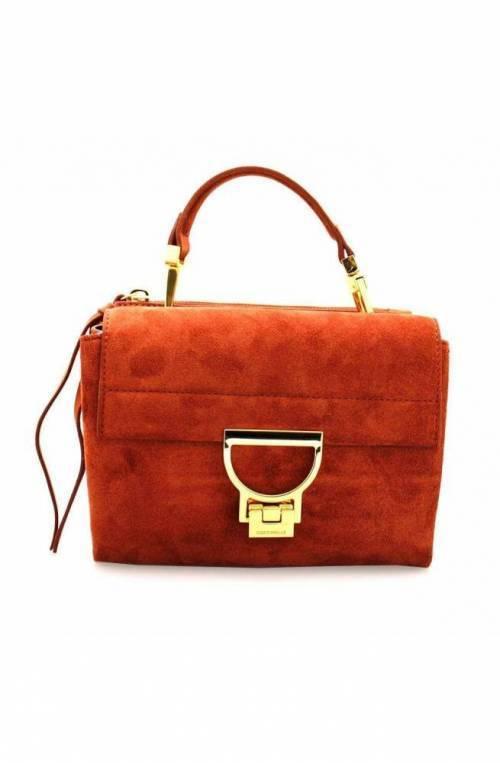 COCCINELLE Bolsa ARLETTIS SUEDE Mujer Cuero Rojo - E1GD655B701R46
