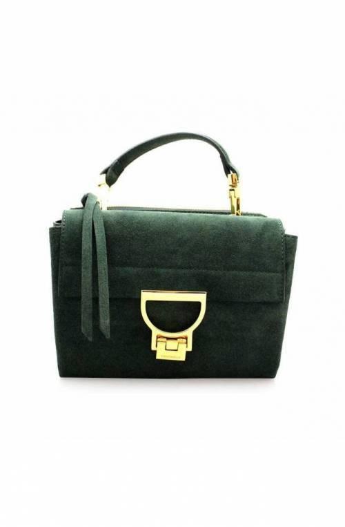 COCCINELLE Bolsa ARLETTIS SUEDE Mujer Cuero Verde - E1GD655B701G31