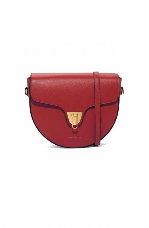 COCCINELLE Bolsa BEAT SOFT Mujer Cuero Follaje rojo - E1GF6150101R46