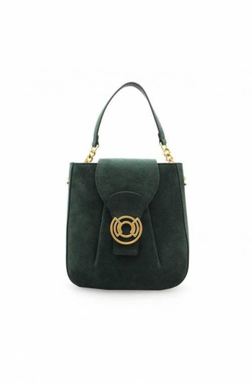 COCCINELLE Bolsa CACHET SUEDE Mujer Gamuza Verde - E1GRC150201G31