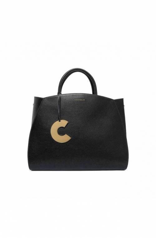 COCCINELLE Bolsa CONCRETE Mujer Piel Negro - E1GLA180201001