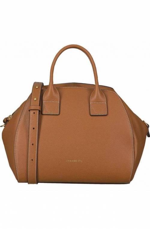 COCCINELLE Bag CONCRETE JOURNAL Female Leather Caramel - E1GLE180401W03