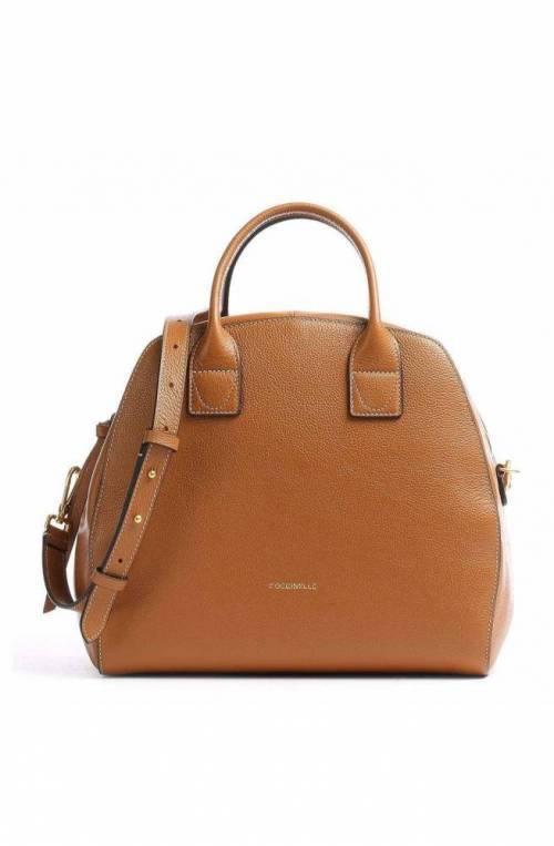 COCCINELLE Bag CONCRETE JOURNAL Female Leather Caramel - E1GLE180501W03