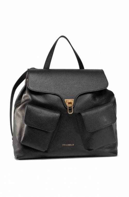COCCINELLE Mochila BEAT SOFT Mujer Cuero Negro - E1GF6140101001