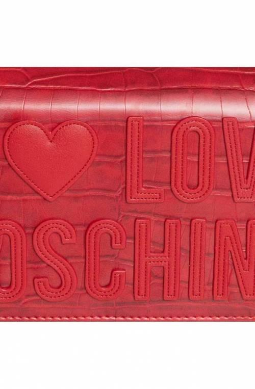 Borsa LOVE MOSCHINO CROCO Donna Rosso - JC4063PP1BLH150A