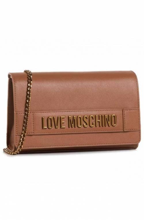 LOVE MOSCHINO Bolsa Mujer Color de cuero - JC4103PP1BLK0200
