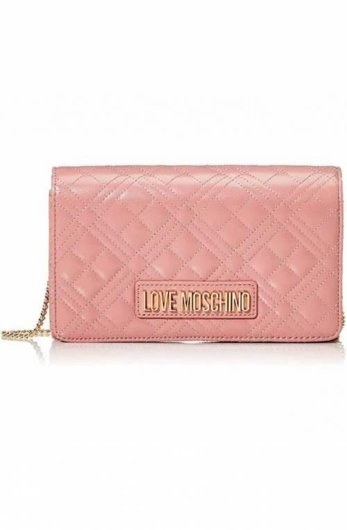 LOVE MOSCHINO Bolsa Mujer Rosa oscuro - JC4059PP1BLA0621