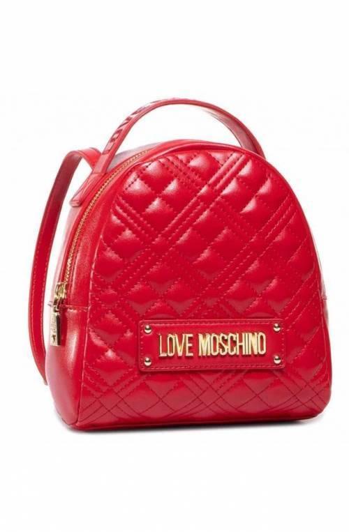 LOVE MOSCHINO Rucksack Damen Rot - JC4201PP0BKA0500