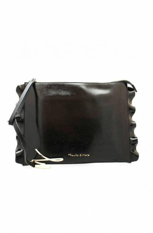 MANILA GRACE Bolsa DAISY Mujer Negro - B030EU-MD500