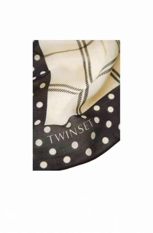 Sciarpa TWIN-SET Donna Nero-Bianco - 202TA441B