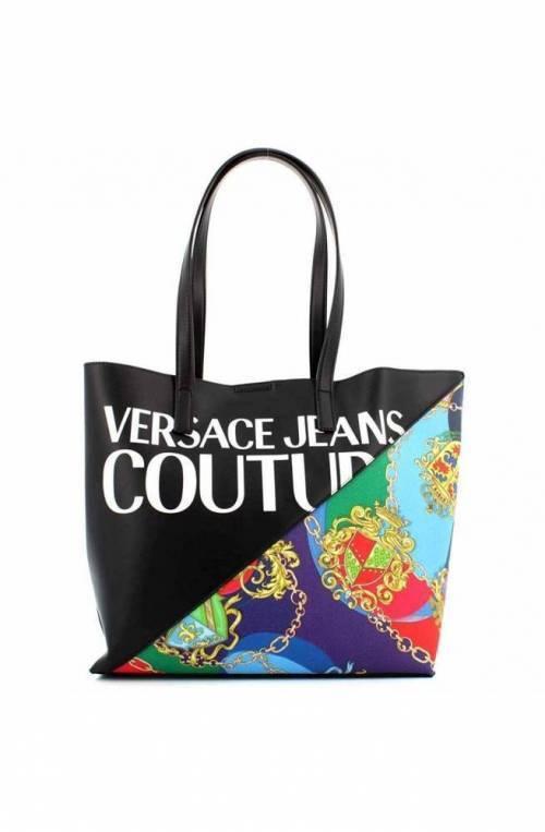 VERSACE JEANS COUTURE Bag SAFFIANO PRINTED Female Black - E1VZBBG171727M09