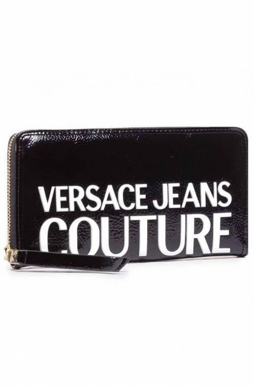 VERSACE JEANS COUTURE Wallet NAPLAK Female Black - E3VZAPP171412MI9
