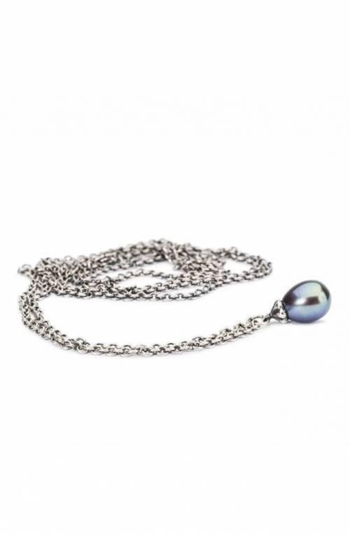 Collana Fantasia con Perla Pavone 90 cm TROLLBEADS - TAGFA-00059