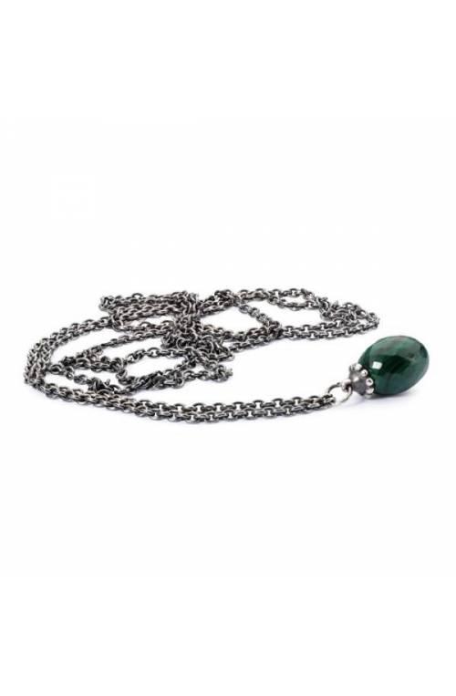 Trollbeads Fantasy Necklace with Malachite 60cm- TAGFA-00034