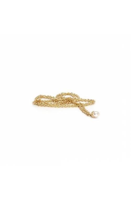 Trollbeads Collana d Oro 14 kt. con Perla 90 cm TAUFA-00004