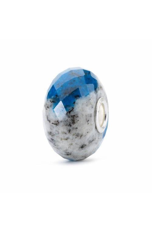 TROLLBEADS Silver Feldspar Azurite Rock Bead Glass - TSTBE-60002