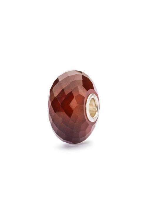 TROLLBEADS Silver Bead Hessonite Garnet - TSTBE-60001