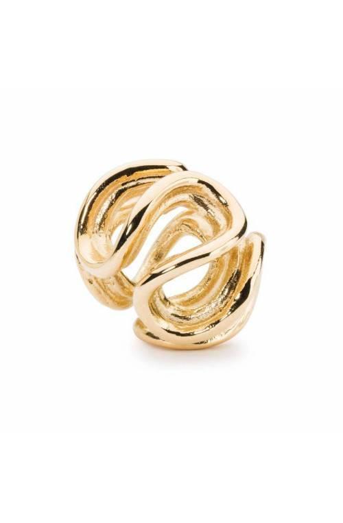 TROLLBEADS Bead Path of Life Bead, Gold TAUBE-00103