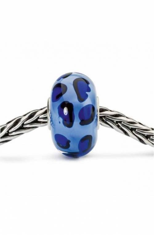 Bead in Argento TROLLBEADS Ghepardo Azzurro - TGLBE-10419