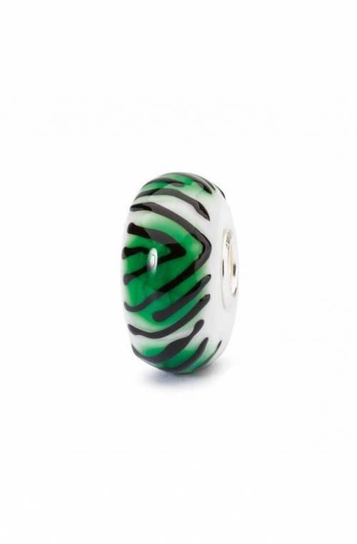 Bead in Argento TROLLBEADS Tigre Smeraldo - TGLBE-10422