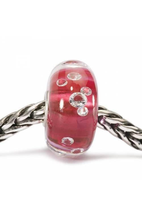 Trollbeads Beads Diamante Rosa TGLBE-00017