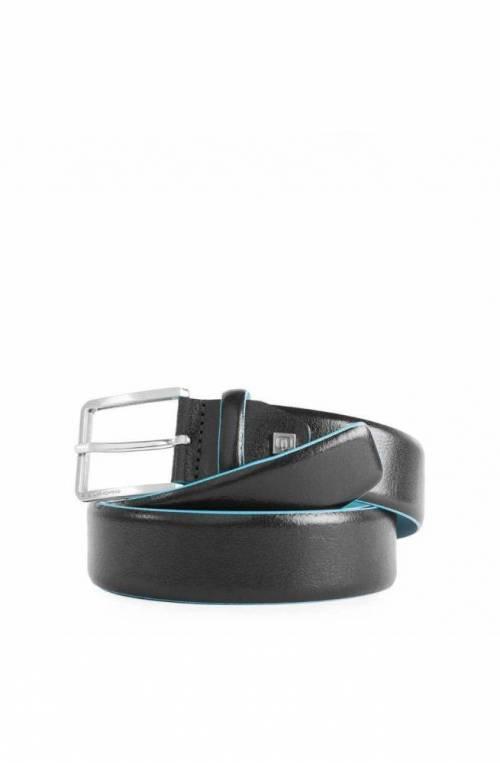 PIQUADRO Cinturón Blue Square Hombre Piel Negro - CU5258B2-N