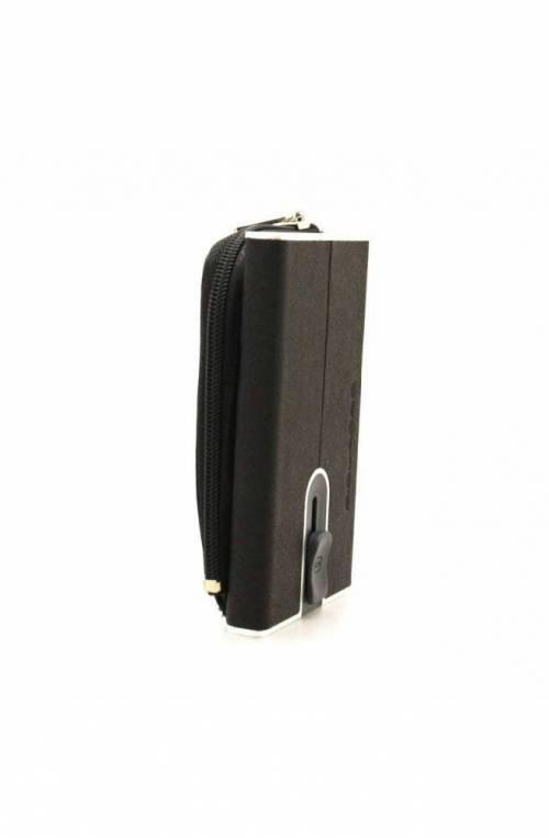 PIQUADRO Wallet Black Square Male Black - PP5359B3R-N