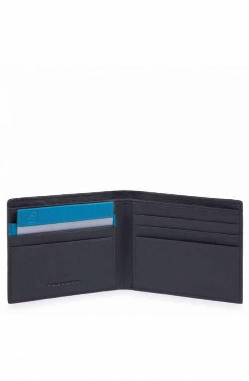 PIQUADRO Wallet Dioniso Leather Blue - PU3891W103R-BLU