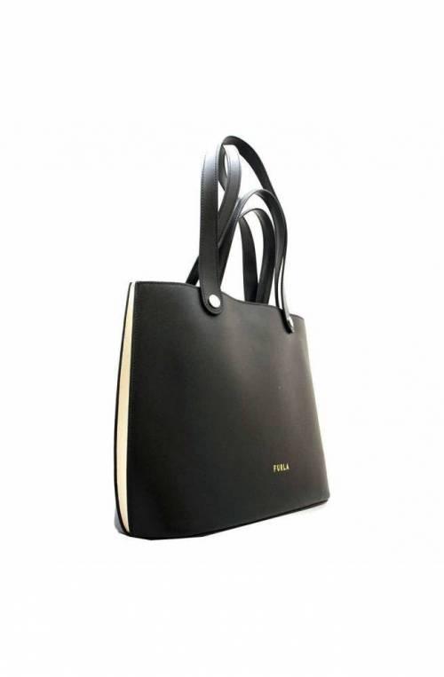 FURLA Bag MUSA Female Leather Black+white - WB00070-MLC000-P1900