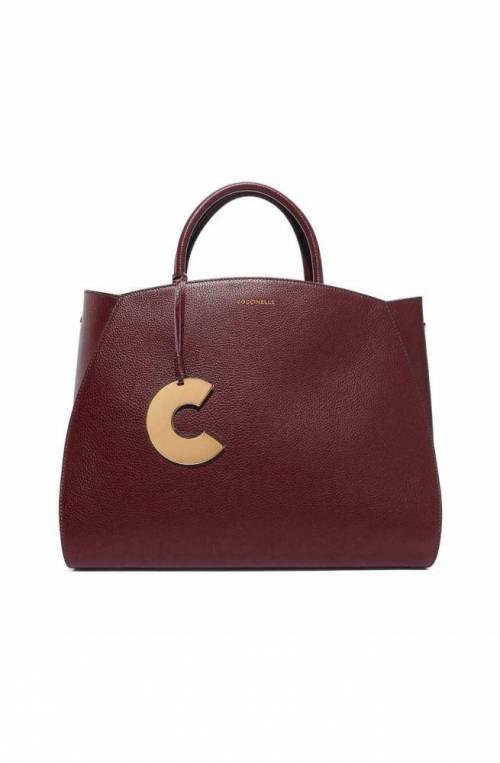 COCCINELLE Bag CONCRETE Female Leather Marsala - E1GLA180201R22