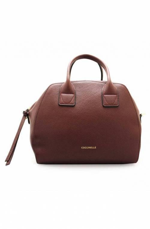 COCCINELLE Bag CONCRETE JOURNAL Female Leather Marsala - E1GLE180401R22