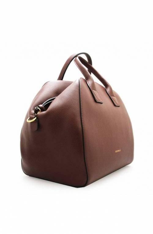 COCCINELLE Bag CONCRETE JOURNAL Female Leather Marsala - E1GLE180501R22