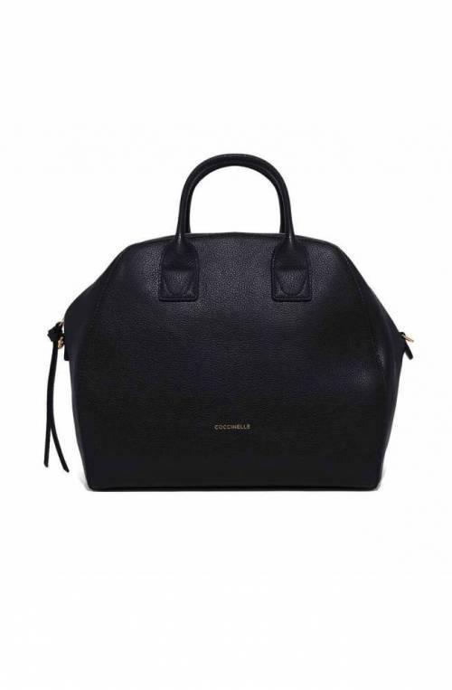 COCCINELLE Bag CONCRETE JOURNAL Female Leather Black - E1GLE180501001