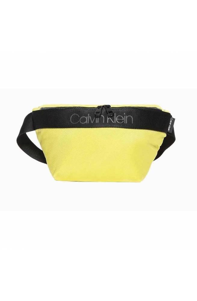 Borsa CALVIN KLEIN NASTRO LOGO Uomo Giallo limone - K50K505672LAF