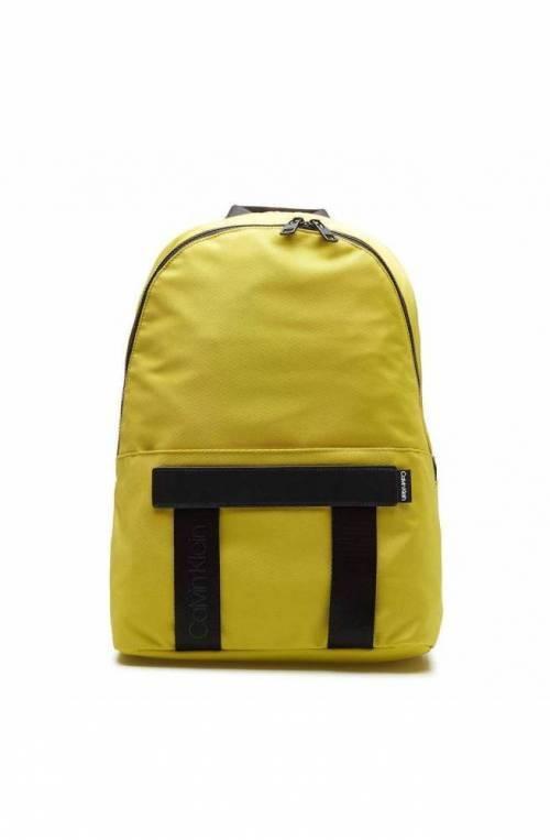 CALVIN KLEIN Mochila NASTRO LOGO Hombre Limon amarillo - K50K505669LAF