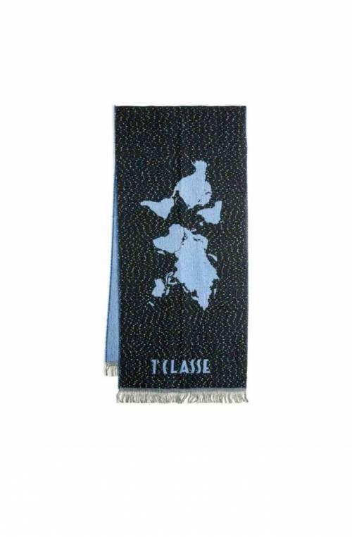 ALVIERO MARTINI 1° CLASSE Scarve Geo Unisex Blue - S103-AM56-0188