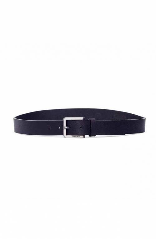 Cintura CALVIN KLEIN ESSENTIAL PLUS Uomo Pelle Blu navy - K50K505748-105