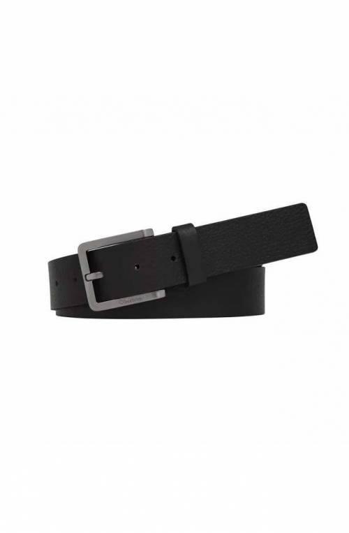 Cintura CALVIN KLEIN ESSENTIAL PLUS Uomo Pelle Nero - K50K505748BAX-90