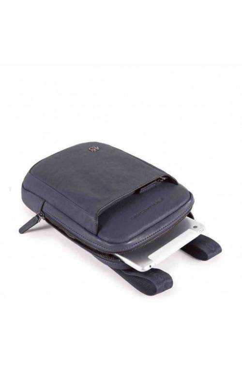PIQUADRO Bag Black Square Male Blue - CA3084B3-BLU4